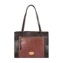 Libra 02 Sb Women's Handbag Ostrich,  brown