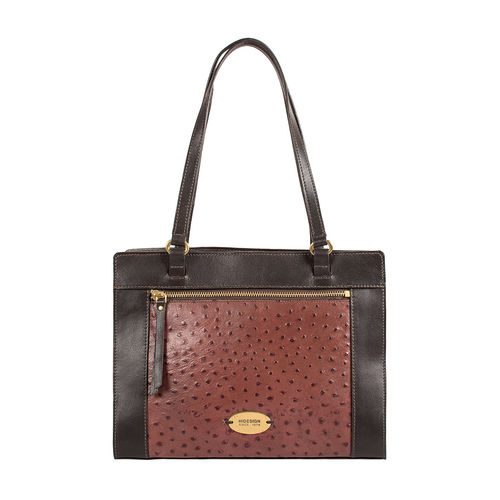 Libra 02 Sb Women s Handbag Ostrich,  brown