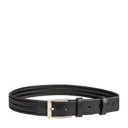 Torino Men's Belt, Ranchero, L,  black