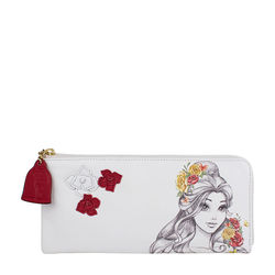 Belle W2 Women's Wallet,  white