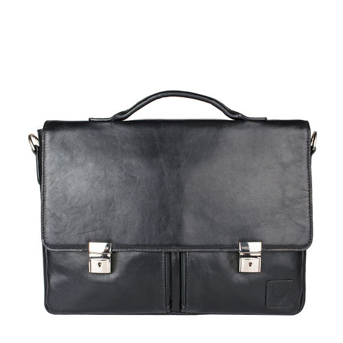 Slider 02 Briefcase Ranchero,  black