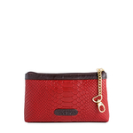 Daphne 02 Cosmetic pouch,  red, snake