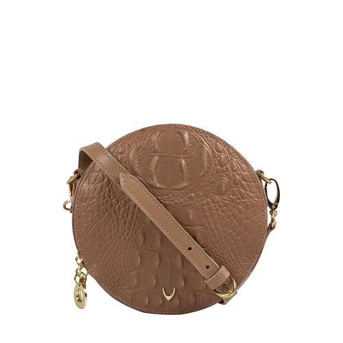Hidesign X Kalki Infinite 03 Women s Handbag Baby Croco,  nude
