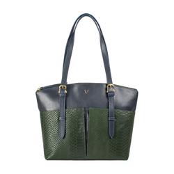 Virgo 01 Sb Women's Handbag Snake,  emerald green