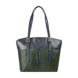 Virgo 01 Sb Women's Handbag Snake,  emerald green