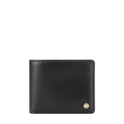 36 02 SB (RFID) MEN'S WALLET MELBOURNE RANCH,  black