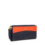 Virgo W3 (Rfid) Women s Wallet, Snake Melbourne Ranch,  blue