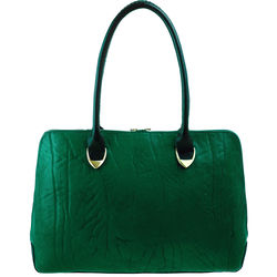Yangtze 03 Handbag, elephant,  green