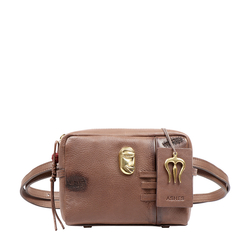 SADHAVI 04 WOMENS HANDBAG COW BOY,  brown