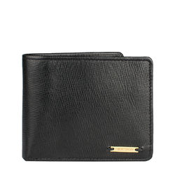 L105 Men's wallet,  black, manhattan