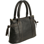 Mina 02 Women s Handbag, Roma,  black
