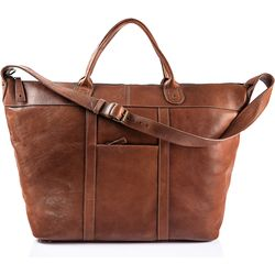 Roberto Men's Duffle Bag, Soweto,  tan