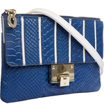 Gina W3 Women s Wallet, Snake Melbourne,  blue