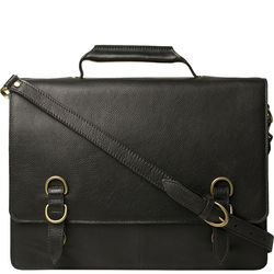 Neil Briefcase,  black, regular