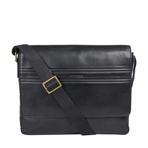 Ee Adam 01 Messenger Bag, Melbourne Ranch,  black