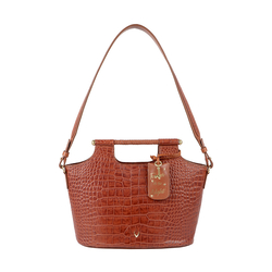 BLACK MAGIC 01 WOMENS HANDBAG CROCO,  tan