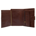258-Ph Passport holder,  brown, khyber