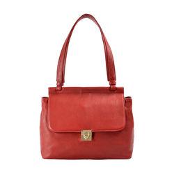 Alhena 02 Women's Handbag Cow Deer,  red