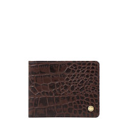 36 02 Sb (Rfid) Men's Wallet Croco,  brown