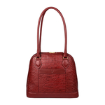 Ee Cleo 02 Women s Handbag, Croco,  red