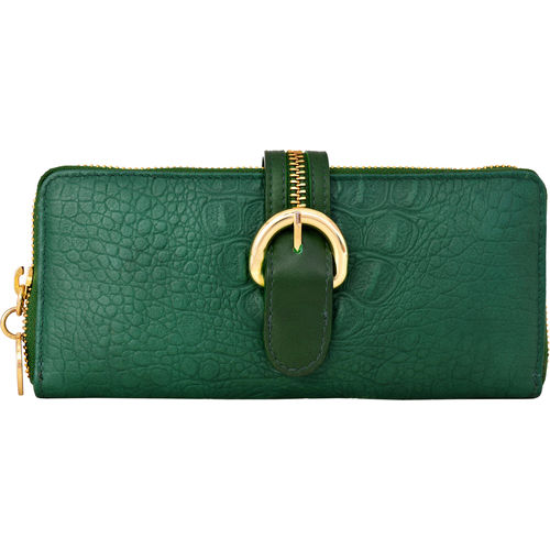 Harajuku W2 Women s Wallet, Baby Croco Ranch,   green, baby croco