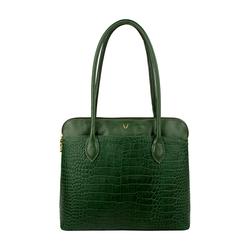 Sb Fabiola 02 Handbag, croco,  emerald