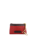 Daphne 01Coin pouch,  red, snake
