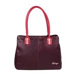 Opal 02 Women s Handbag, Cowdeer Ranch,  aubergine