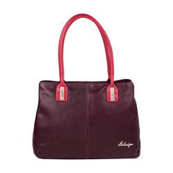 Opal 02 Women's Handbag, Cowdeer Ranch,  aubergine