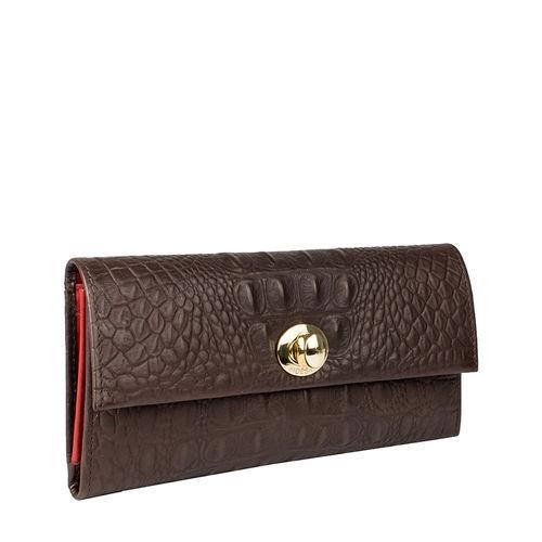 Savoy W2 Women s Wallet, Baby Croco Ranch,  brown, baby croco
