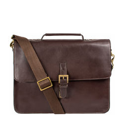 Confucius 01 Briefcase Soho,  brown