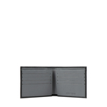017SC (RFID) MEN S WALLET PRINTED REGULAR,  black