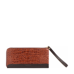 Spruce W3 Sb (Rfid) Women s Wallet Croco,  tan