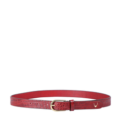 Ee Monica Women's Belt Glazed, 36 38,  marsala