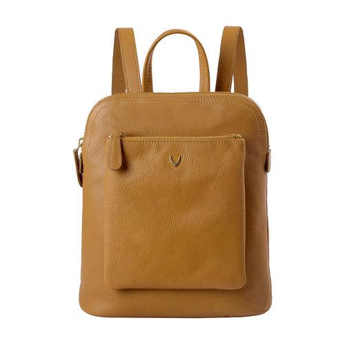 Hidesign X Kalki Human 02 Women s backpack, Regular Printed,  honey