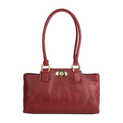 Subra 01 Handbag,  red