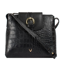 Sb Lyra Women's Handbag Croco,  black