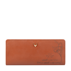 MANTRA W1 RF WOMENS WALLET SOHO,  tan