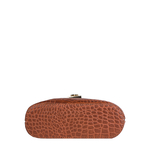 Goldie 01 Women s Handbag, Croco Melbourne Ranch Split,  tan