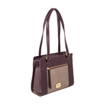 Libra 01 Sb Women s Handbag Melbourne Ranch,  aubergine