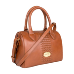 Treccia 03 Women s Handbag, Soho,  tan