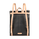 HIDESIGN x KALKI BOSS 02 WOMENS S BACKPACK WAXED SPLIT,  black