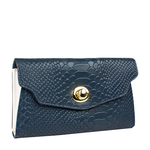 Phoebe W2 Women s Wallet, Snake Ranch,  blue, snake