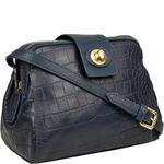 Paulina 02 Women s Handbag, Cement Croco Melbourne,  midnight blue
