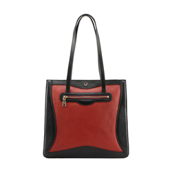 HIDESIGN X KALKI BOSS 03 WOMEN'S SHOULDER BAG WAXED SPLIT,  red