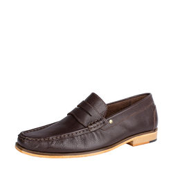 Andrew Men's Shoes, Soweto Goat Lining, 9,  brown