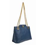 Sb Alya 01 Women s Handbag, Snake,  blue