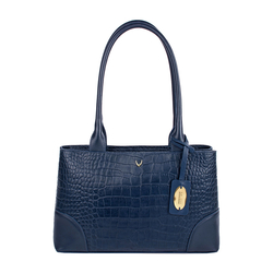 EE BERLIN 02 WOMENS HANDBAG CROCO,  midnight blue