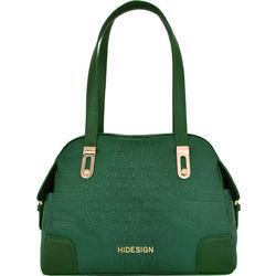 Harajuku 02 Handbag, baby croco,  green