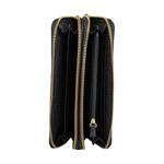 Martina Women s Wallet, Croco,  black